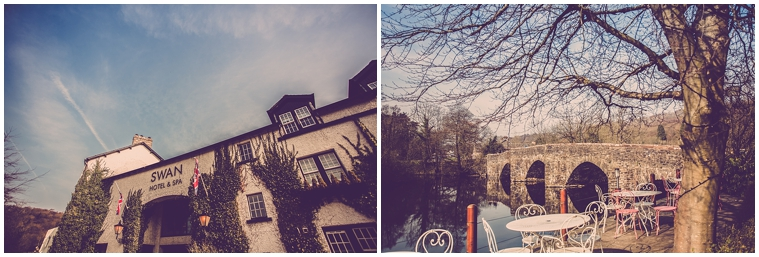 the swan hotel & spa newby bridge wedding