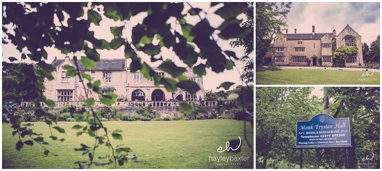 monk fryston hall wedding