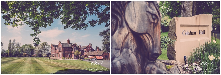 colshaw hall wedding